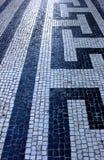 Pavimentazione portoghese, Lisbona, Portogallo Fotografia Stock