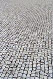 Pavimentazione portoghese, portuguesa di Calcada Fotografia Stock Libera da Diritti