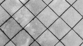 Pavimenti dei blocchi in calcestruzzo fotografia stock