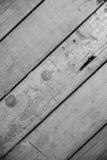 Pavimenti di legno e bianco del fondo Fotografie Stock