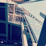 3 pavimenti per raggiungere il cielo Fotografie Stock