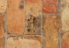 Pavimento 01 del mattone Fotografie Stock