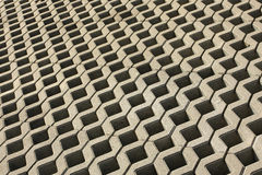 Pavimento abstracto del cemento Foto de archivo