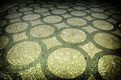 Pavimento artístico Imagen de archivo