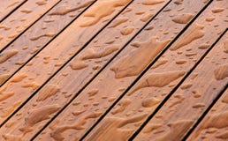 Pavimento bagnato Fotografia Stock