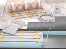 Pavimento caldo elettrico illustrazione 3D Immagine Stock Libera da Diritti