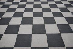 Pavimento Checkered immagini stock libere da diritti