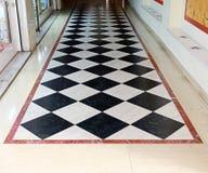 Pavimento Checkered fotografia stock libera da diritti
