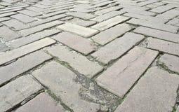 Pavimento Cobbled Foto de Stock