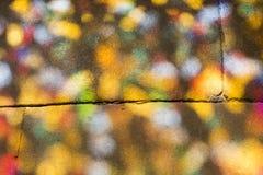 Pavimento colorato Fotografia Stock Libera da Diritti