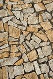 Diversa pavimentación del granito de las formas imagenes de archivo