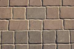 Pavimento concreto de Brown Imagem de Stock