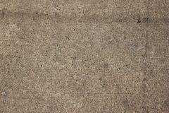 Pavimento concreto de Brown da textura Fotografia de Stock Royalty Free