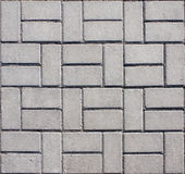 Pavimento concreto embaldosado del mosaico fotos de archivo libres de regalías