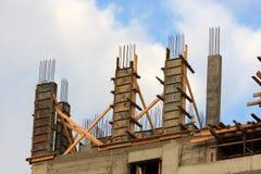 Pavimento in costruzione Immagini Stock