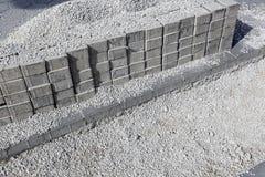Pavimento da construção Fotografia de Stock