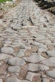 Pavimento da maneira de Appian Foto de Stock