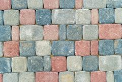 Pavimento da una pietra vetny fotografie stock