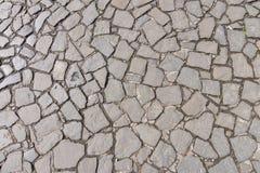 Pavimento de adoquín en Stirling Castle Fotos de archivo