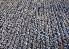 Pavimento de camino viejo Fotografía de archivo