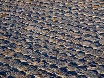 Pavimento de las losas del granito Imagen de archivo libre de regalías