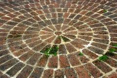 Pavimento de las piedras del adoquín Foto de archivo