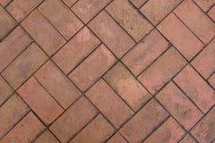 Pavimento de los ladrillos fotos de archivo