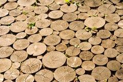 Pavimento de madera Imágenes de archivo libres de regalías