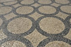 Pavimento de Oporto Foto de archivo