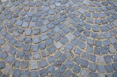 Pavimento de pedra cúbico Imagem de Stock