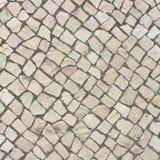 Pavimento de pedra calcária Foto de Stock