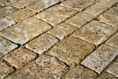 Pavimento de piedra Fotos de archivo libres de regalías