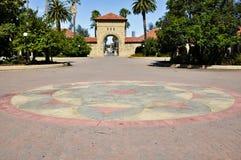 Pavimento de piedra colorido foto de archivo libre de regalías
