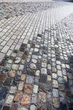 Pavimento de piedra del adoquín Fotografía de archivo libre de regalías