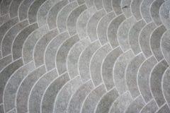 Pavimento de piedra del bloque Fondo abstracto del camino de la piedra del adoquín Foto de archivo
