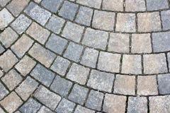 Pavimento de piedra del rectángulo Imágenes de archivo libres de regalías