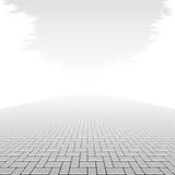 Pavimento del bloque de cemento Fotografía de archivo