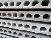 Pavimento del calcestruzzo precompresso immagine stock