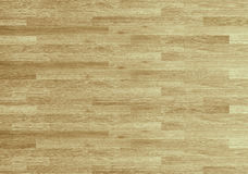 Pavimento del campo da pallacanestro dell'acero del legno duro osservato da sopra Fotografie Stock Libere da Diritti