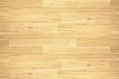 Pavimento del campo da pallacanestro dell'acero del legno duro osservato da sopra Immagine Stock Libera da Diritti