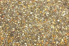 Pavimento del cemento del fondo con marmo Fotografia Stock