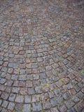 Pavimento del Cobblestone Fotografia Stock Libera da Diritti