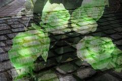 Pavimento del color Imágenes de archivo libres de regalías