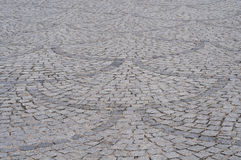 Pavimento del granito Foto de archivo libre de regalías