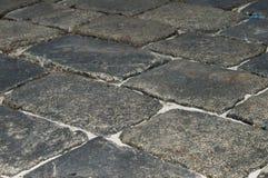 Pavimento del granito en la ciudad Kharkov en la Ucrania piedra fotografía de archivo libre de regalías