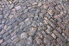 Pavimento del guijarro del vintage Imagenes de archivo