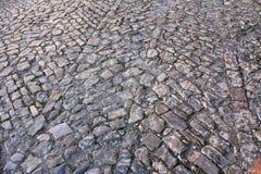 Pavimento del guijarro del vintage Fotografía de archivo