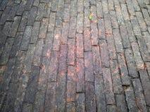 Pavimento del mattone Immagine Stock Libera da Diritti