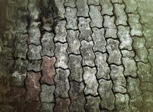 Pavimento del mattone di lerciume Fotografia Stock Libera da Diritti