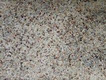 pavimento del terrazzo della casa della ghiaia fotografia stock